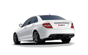 C63 Coupe Arkapovic exhaust side